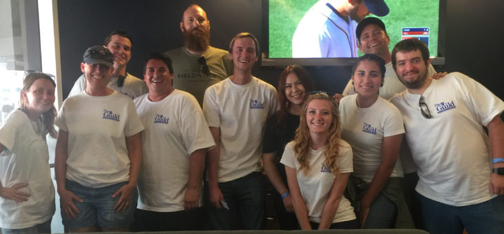 AFT Student Interns (and a few faculty ringers) Celebrate Labor Day at Petco Park!