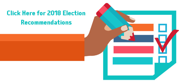 2018 General Election Recommendations