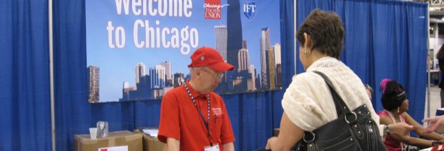 AFT Convention Chicago July 2008 (photos by Augie Sandoval)