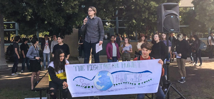 SD Students Walk Out to Protest Inaction on Climate Change – 3/15/19