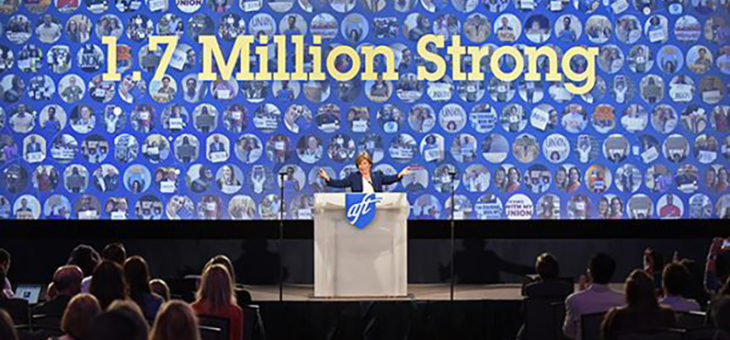 AFT National Membership Hits 1.7 Million! -  07/1/2019