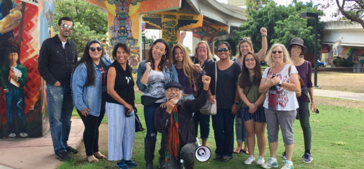 AFT Members take part in Chicano Park Tour with famed Muralist Mario Torrero - 9/28/2019