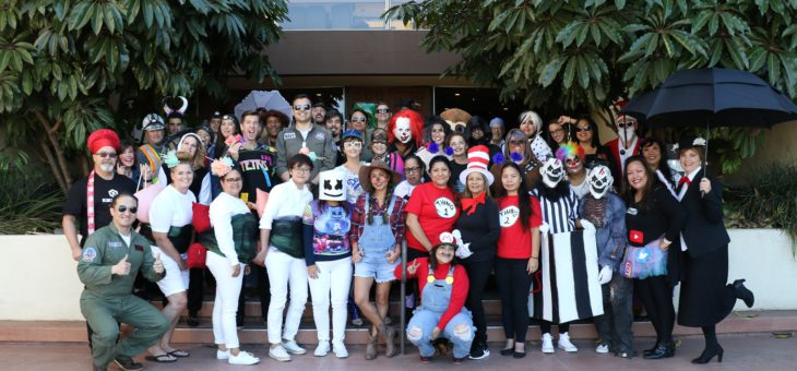 SDCCD District Office Does Halloween in Style! - 10/31/2019