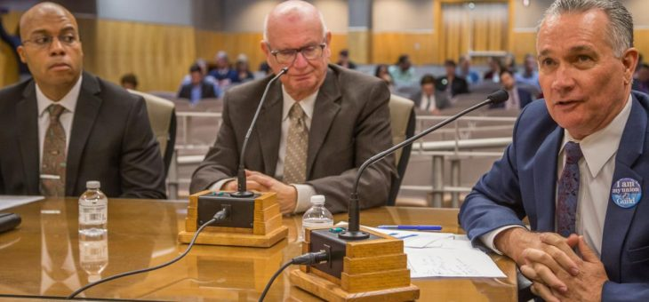 CFT Community College Council President Jim Mahler Testifies at Calbright Senate Hearing - 2/13/2020