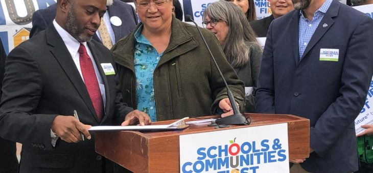 Tony Thurmond Endorses Schools & Communities First - 1/29/2020