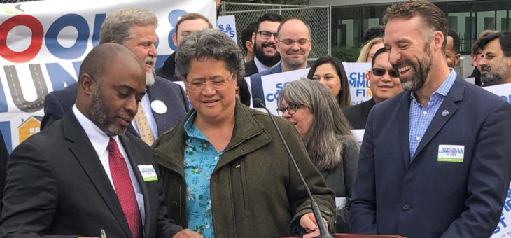 Tony Thurmond Endorses Schools & Communities First - 1/29/2020